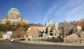 Quebec City Harbor Front Stock Images