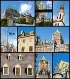 Quebec City landmarks, Canada Stock Photo