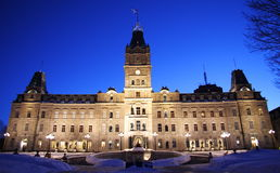 Quebec City, Parliament Stock Photos