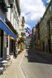 Quebec city rue Couillard Stock Photos