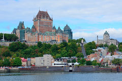 Quebec City skyline Royalty Free Stock Photography