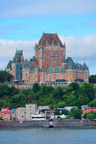 Quebec City skyline Royalty Free Stock Photos