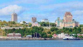 Quebec City skyline Stock Photography