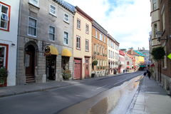 Quebec City Street Royalty Free Stock Images