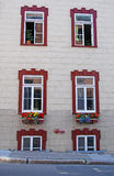 Quebec City Summer Windows Stock Photography