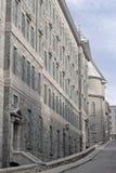 Quebec- Citygasse Stockfoto