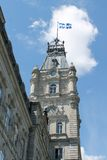 Quebec Clock Tower Stock Image