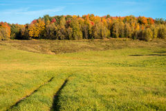 Quebec countryside in Autumn Stock Photo
