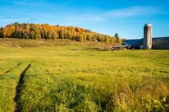 Quebec countryside in Autumn Stock Photos