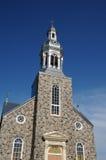 Quebec, de historische kerk van Bonne Aventure Stock Foto