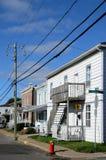 Quebec, de stad van Trois Rivieres in Mauricie Royalty-vrije Stock Afbeeldingen