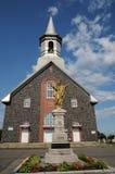 Quebec dziejowy kościół święty Bruno obrazy stock