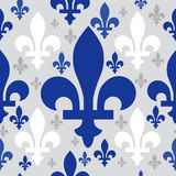 Quebec emblem pattern Stock Photos