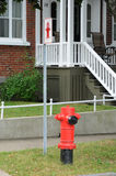 Quebec, a fire hydrant in Levis Royalty Free Stock Photo