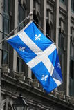 Quebec flag Stock Photography