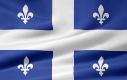 Quebec Flag Royalty Free Stock Images