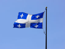 Quebec Flag royalty free stock photography