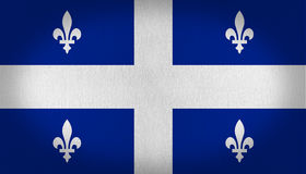 Quebec flagga Royaltyfria Bilder