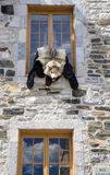 Quebec-Folklore Stockbild