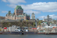 Quebec Harbor Stock Image