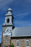 Quebec, the historical church of Sainte Luce Royalty Free Stock Photos