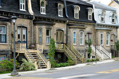 Quebec , house in the city of Levis in Chaudiere Appalaches Stock Images