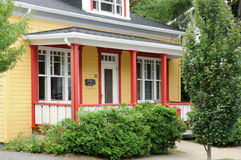 Quebec , house in the city of Levis in Chaudiere Appalaches Stock Photography