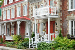 Quebec , house in the city of Levis in Chaudiere Appalaches Royalty Free Stock Photos
