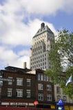 Quebec, 29 Juni: De Bouw van de gebouwprijs van de Oude Stad van Quebec in Canada Stock Foto's