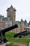 Quebec kasztel Obraz Royalty Free