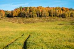 Quebec-Landschaft im Herbst Stockfoto