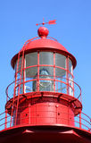 Quebec, the lighthouse of La Martre in Gaspesie Royalty Free Stock Images