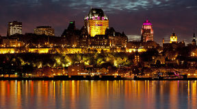Quebec Royalty Free Stock Photography