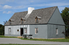 Quebec, the Maison Lamontagne in Rimouski Royalty Free Stock Images