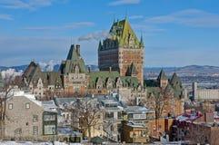 Quebec miasto Zdjęcie Royalty Free