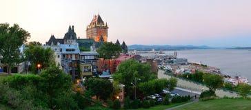 Quebec miasto obraz stock