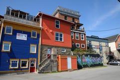 Quebec miasto Gaspe obrazy stock