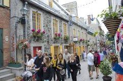 Quebec miasto, Quebec Fotografia Royalty Free