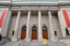 Quebec, museo de bellas arte en Montreal imagen de archivo libre de regalías