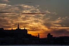 Quebec niebo Zdjęcia Royalty Free