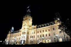 Quebec-Parlament Lizenzfreie Stockbilder