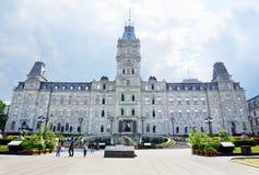 Quebec parlament Arkivfoton
