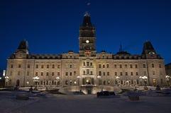 Quebec-Parlamentsgebäude lizenzfreie stockfotos