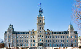 Quebec Parliament Building. The Quebec Parliament Building in Quebec City, Quebec, Canada Stock Photography