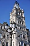 Quebec Parliament Building, Quebec City. Tower of Quebec Parliament Building, Quebec City, Quebec, Canada Stock Photo