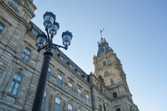 Quebec parliament Royalty Free Stock Photo