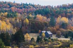Quebec wieś w spadku Obrazy Stock
