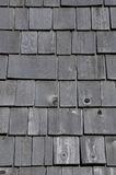 Quebec, wooden tiles on the Maison Lamontagne in Rimouski Royalty Free Stock Image