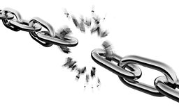 Quebra Chain ilustração do vetor