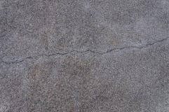 Quebra da estrada asfaltada, fundo da textura Fotografia de Stock Royalty Free